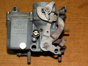 Vw Aircooled Vintage Solex 34 Pict 3 Carburetor Nice German Core Or Just Run It