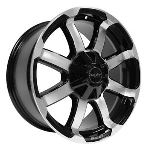 Carroll Shelby Cs 17 F150 18x8 5 6x135 Et18 Black W machined Face qty Of 1