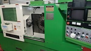 Ikegai Tcr 25 Cnc Mill Turn Lathe c Axis Inmaculate Condition