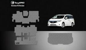 Toughpro Full Set Gray For Nissan Quest All Weather Custom Fit 2011 2015