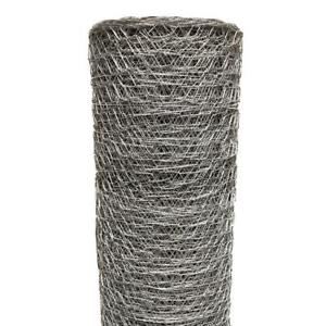 Poultry Netting Chicken Wire Fence Net Fencing Garden Outdoor 1 Inch X 4 X 50 Ft