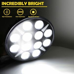 2pcs 9 Waterproof 120w High Power Led Round Work Light Headlight For Jeep Ford