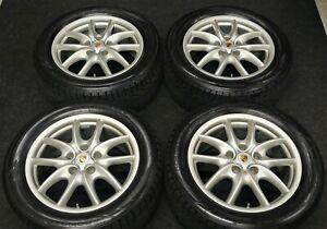 Factory Porsche Cayenne S Turbo Gts 19 Oem Wheels New Winter Snow Tires