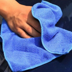 Microfiber Blue Car Detailing Soft Cloth Towel Duster Cleaning Accessories