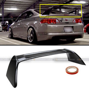 1fit 02 06 Acura Rsx Dc5 Glossy Black Painted Jdm Tr Type R Rear Trunk Spoiler