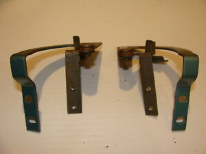 1965 Plymouth Satellite Glovebox Lid Hinges Oem Belvedere