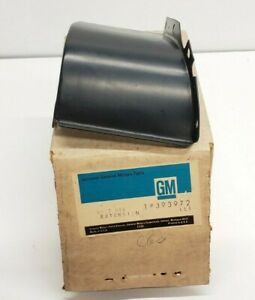 1967 Olds Cutlass F85 Front Right Rh Bumper Extension Shield Nos Gm Oem 393972
