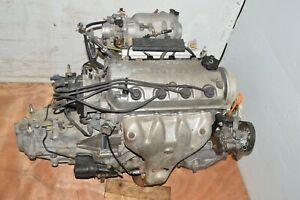 Jdm 92 2000 Honda Civic D16y4 D16y7 Non Vtec Engine 5 Speed Manual Transmission