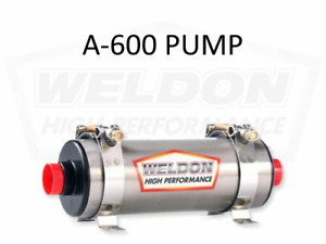 Weldon Racing A600 600hp Inline Electric Fuel Pump