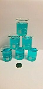 case Of 6 30ml Griffin Beaker Low Form Graduated Shot Glass