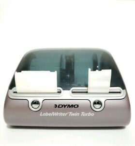 Dymo 93085 Labelwriter Twin Turbo Label Printer Usb Cable Ac Adaptor Included