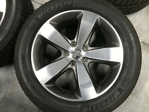 20 Jeep Grand Cherokee 2016 Oem Alloy Wheel Rim No Tire Polished With Gray