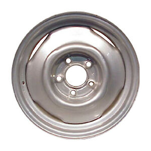 15 X 7 4 Slot Refurbished Oem Chevrolet Steel Wheel Silver 08030