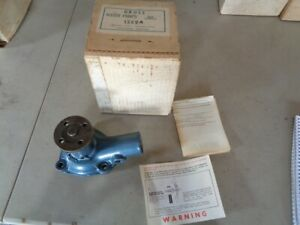 Nos New Vintage 1952 1956 Ford Truck Water Pump Cp756 1248a 1955 1954 1953