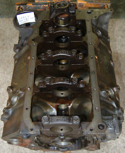 Chevrolet 350 4 Bolt Main Engine Block Used