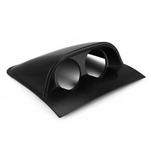 2 52mm Black Dual Hole Dashboard Gauge Pod Mount Holder For Pontiac Gto 04 06