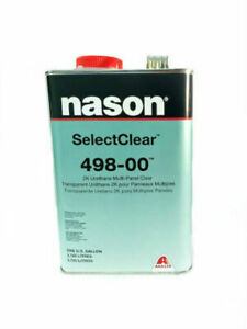 Clear Coat 498 00 2k Urethane Multi panel Clear Gallon no Activator