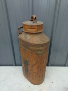 Vintage Ellison 5 Gallon Liquid Metal Gas Can
