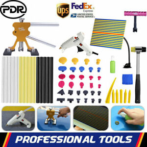Pdr Paintless Repair Tools Puller Lifter Tap Hammer Line Board Hail Removal Kit
