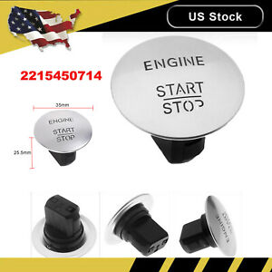 2215450714 Keyless Start Stop Push Button Ignition Switch For Mercedes Benz New