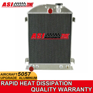 3 Rows Aluminum Radiator For Ford Model A grill shells 1928 1931 1930 1929