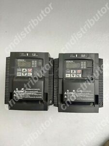 Used Hitachi Variable Frequency Drive Wj200 015hfc m 2 year Warranty