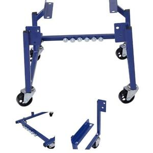 New 1000lb Auto Engine Cradle Stand Dolly Mover Repair Rebuild W Wheels