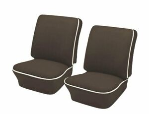 1954 1955 Volkswagen Vw Bug Oem Classic Seat Upholstery Front Only Brown