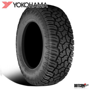 1 X New Yokohama Geolander X at Lt265 70r17 121 118q E Tires