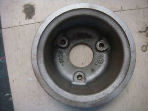 Original 64 65 Ford Mustang 260 289 Crank Pulley Crank Shaft Pulley C3oe6312