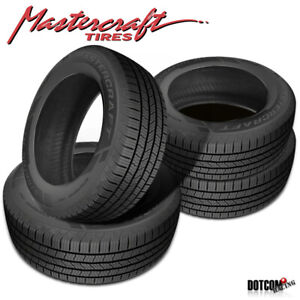 4 X New Mastercraft Stratus Ht 255 70r16 Tires