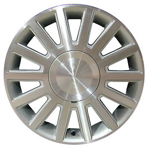Chrome Plated 14 Slot 17x7 Factory Wheel 2003 2004 Lincoln Town Car