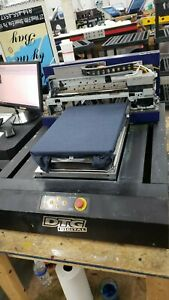 Dtg Digital Hm1c Hm1 2 Machines Included 1 Working Perfectly 1 Parts Machine