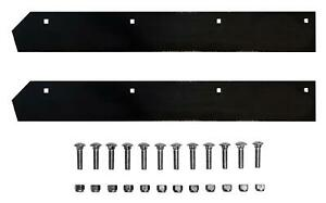 Steel Cutting Edge Both 48 Halves And Bolt Kit 8 2 V Plow For Boss Bax00098