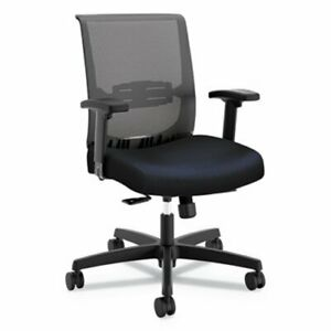 Hon Convergence Syncho tilt Chair Navy Seat With Glide honcmy1acu98