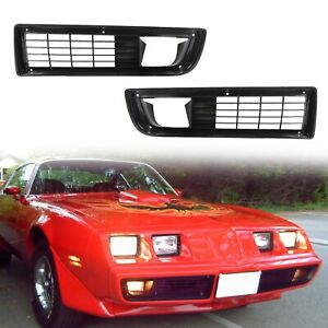 For 1979 1981 Pontiac Firebird Trans Am Grille Set Fitting Kit Pair
