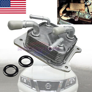 Cvt Transmission Oil Cooler With O Rings 21606 28x0b For Nissan 2013 2017 Best