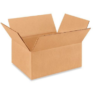 25 10x8x4 Cardboard Paper Boxes Mailing Packing Shipping Box Corrugated Carton