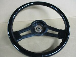 1984 1985 1986 1987 1988 Monte Carlo Ss Steering Wheel Oem Black