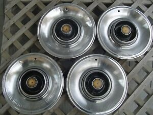 1965 65 Chrysler Imperial Hubcaps Wheel Cover Center Cap Antique Vintage Classic