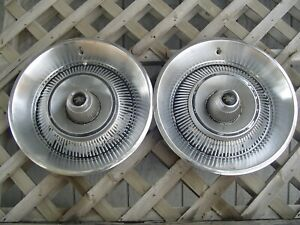 1967 1968 Dodge Chrysler Plymouth 14 In Hubcaps Wheel Cover Center Cap Antique
