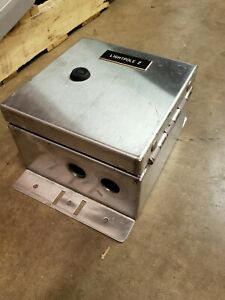 Dudlik Turn Latch Stainless Steel Junction Box With Terminal Block 8x8x5