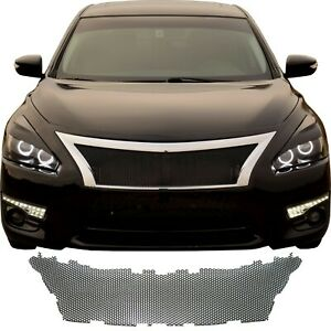 Ccg Black Sm Perf Precut Mesh Grill Insert For A 2013 15 Nissan Altima Grille