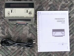 Agilent Hp Keysight 5382a Frequency Counter 225mhz W Manual Power Cord Tested