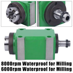 Universal Power Milling Head Bt30 Spindle Unit For Milling Machine Waterproof
