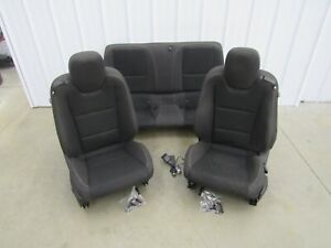 2012 2015 Camaro Ss Zl1 Oem Front Rear Seats Black Cloth U66