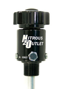 Nitrous Outlet Billet High Flow Valve For 10lb Bottle