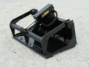 42 Solid Bottom Bucket Grapple Attachment Fits Toro Dingo Mini Skid Steer