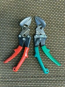 Pair Of Prosnip Metal Shears Left And Right Cutting New Made In Usa