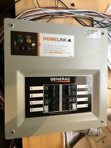 Generac Upgradeable 50 Amp Transfer Switch Kit For 8 To 10 Circuits open Box